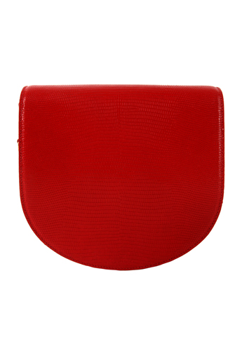 Halfmoon bag(red)