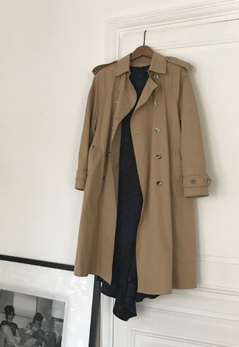 Afternoon in Paris - Beige Trench