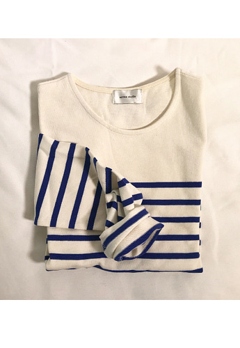 Saint Stripe Tee(3color) 블루품절