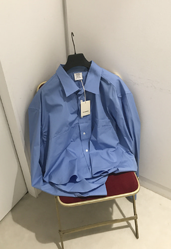 Vetements Blue shirts