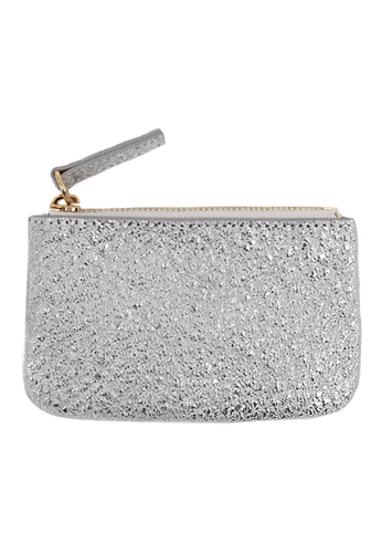 [silver] key holder wallet