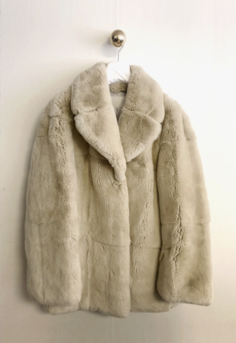 Premium Rex Fur Coat