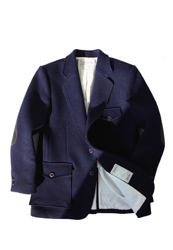 CLASSIC WOOL JACKET (NAVY)